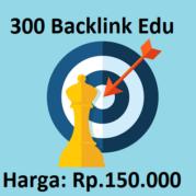 300 Backlink Edu Kualitas Tinggi